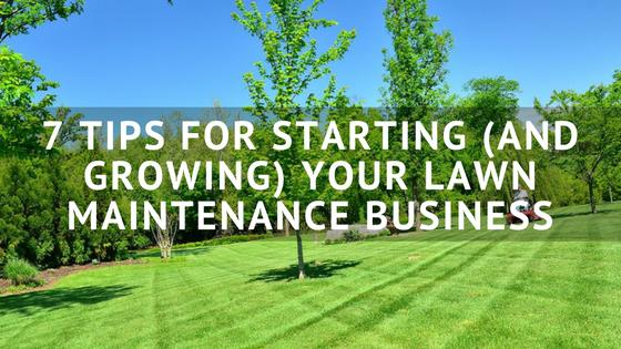Lawn Maintenance Business Software