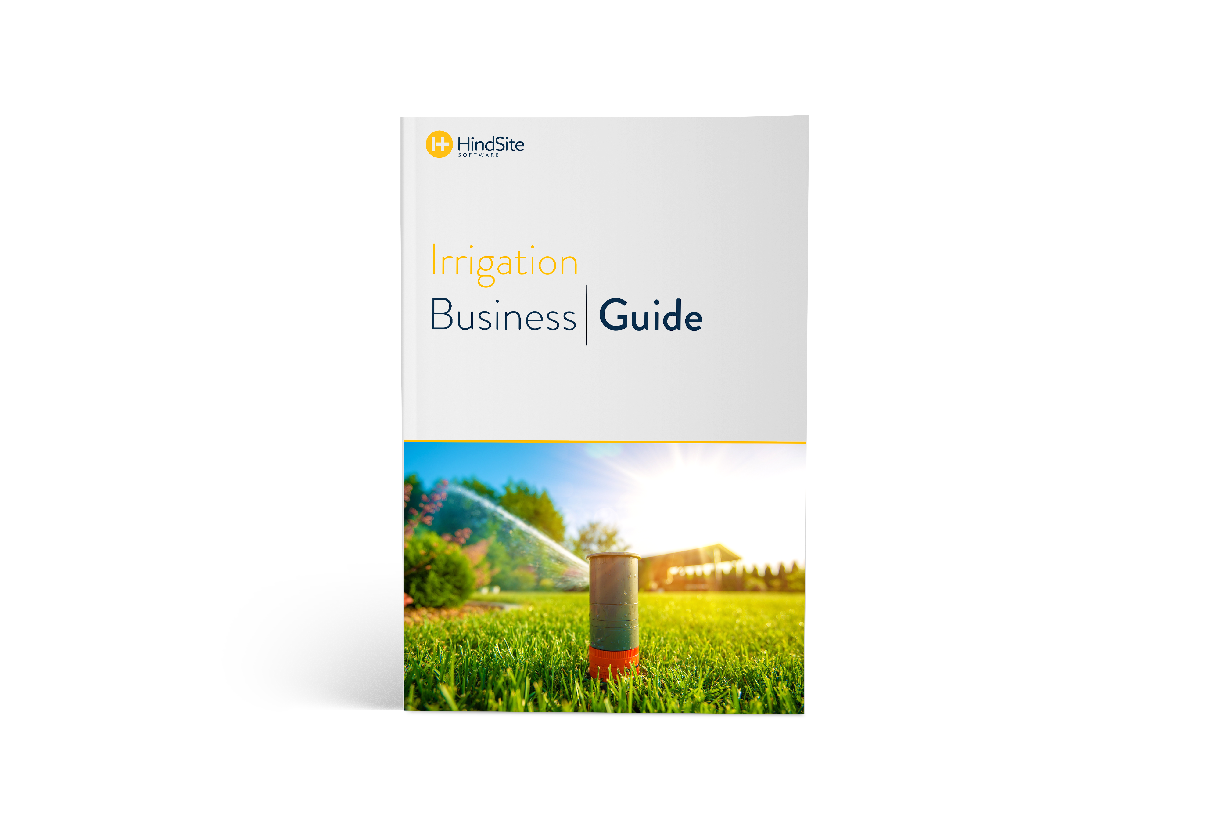 Irrigation Business Guide ebook cover.