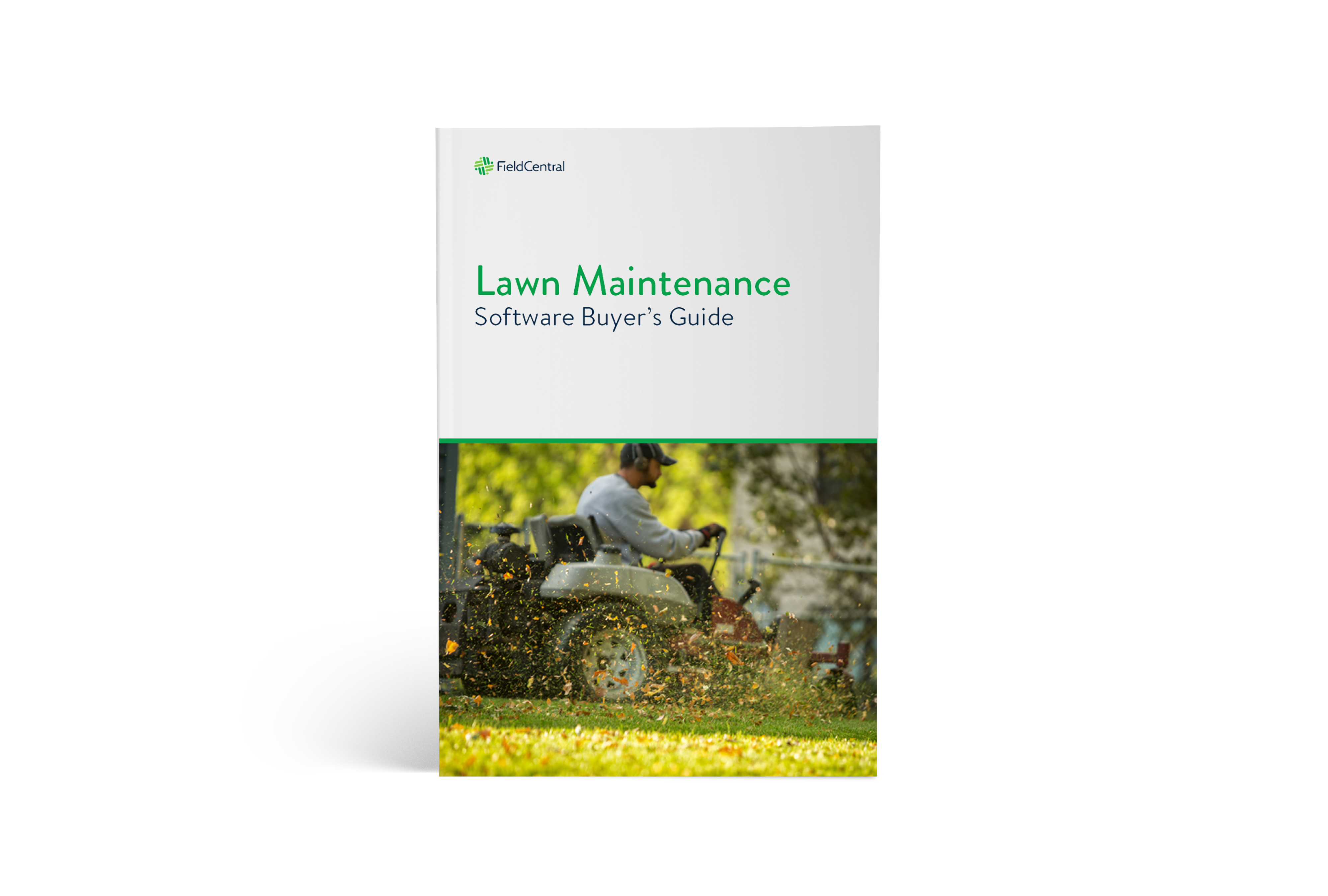 Lawn Maintenance Software Buyer's Guide ebook cover.