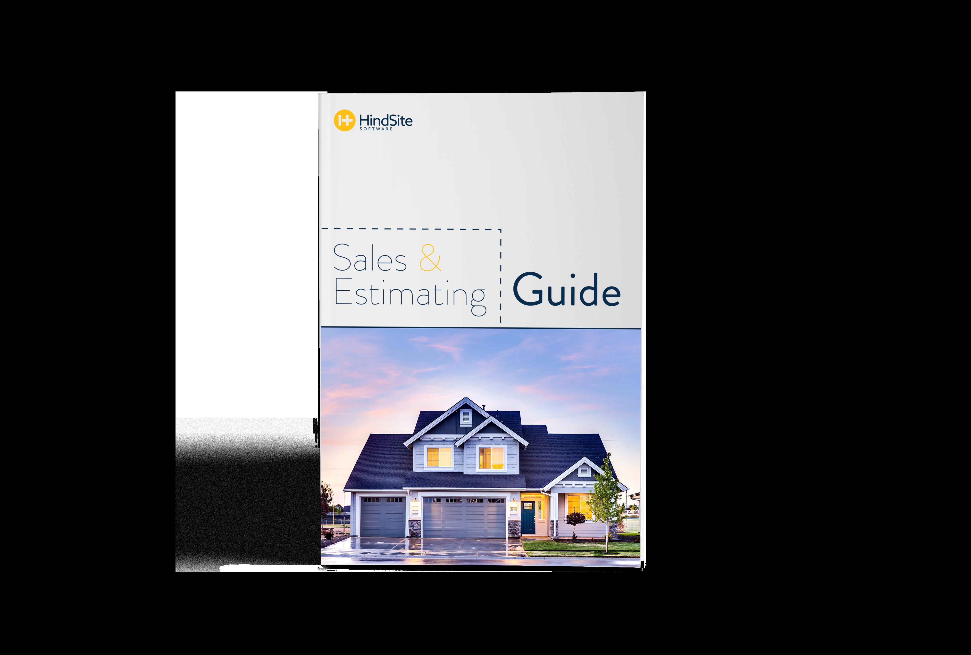 Sales & Estimating Mock Cover