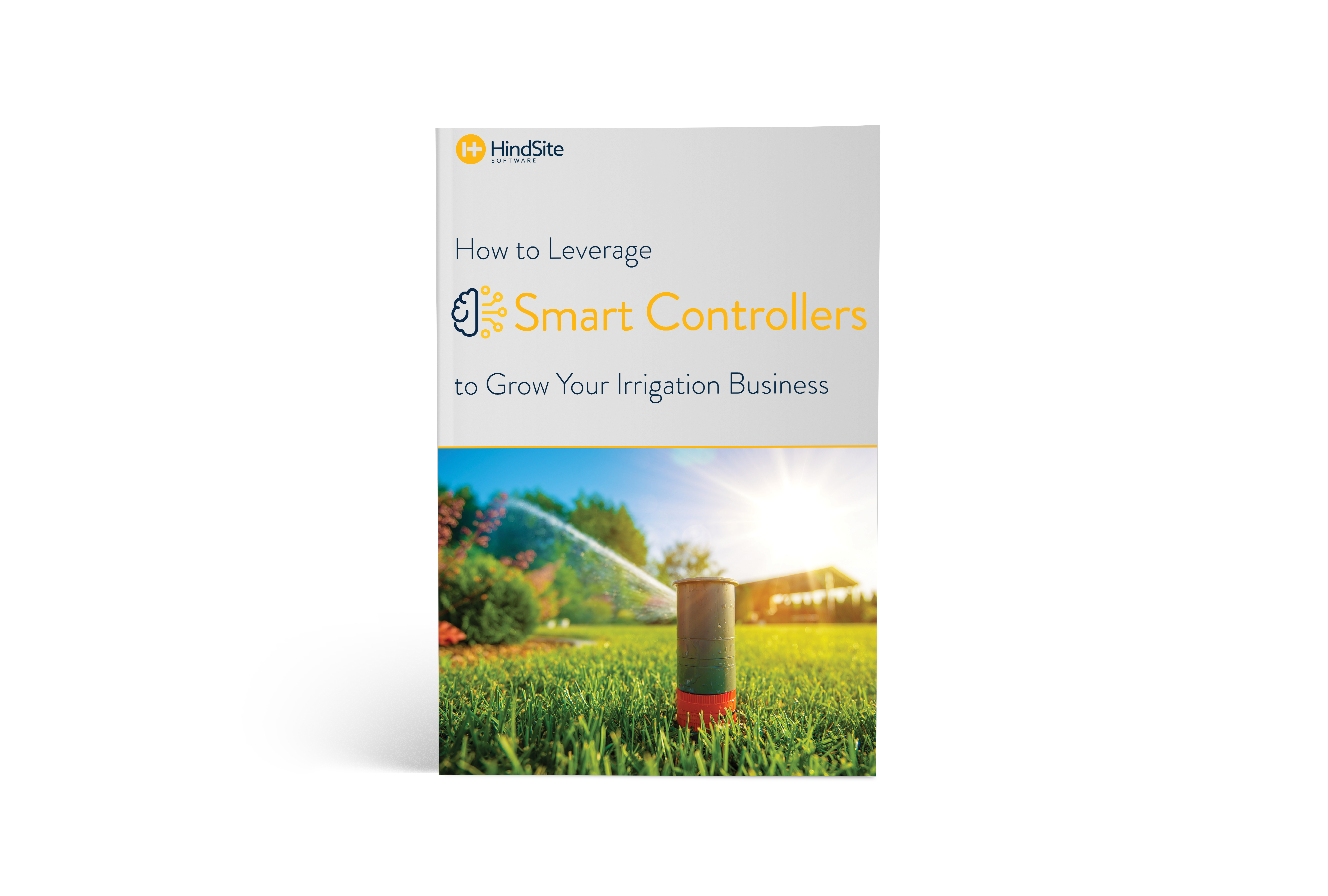 How to Leverage Smart Controllers to Grow Your Irrigation Business ebook cover.
